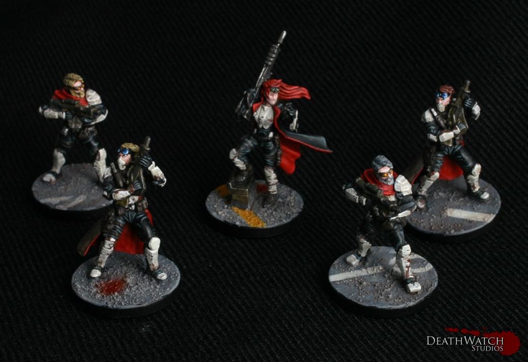 Rebs Commander & Troopers