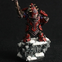 Kings of War - Abyssal Dwarf Characters Finished!