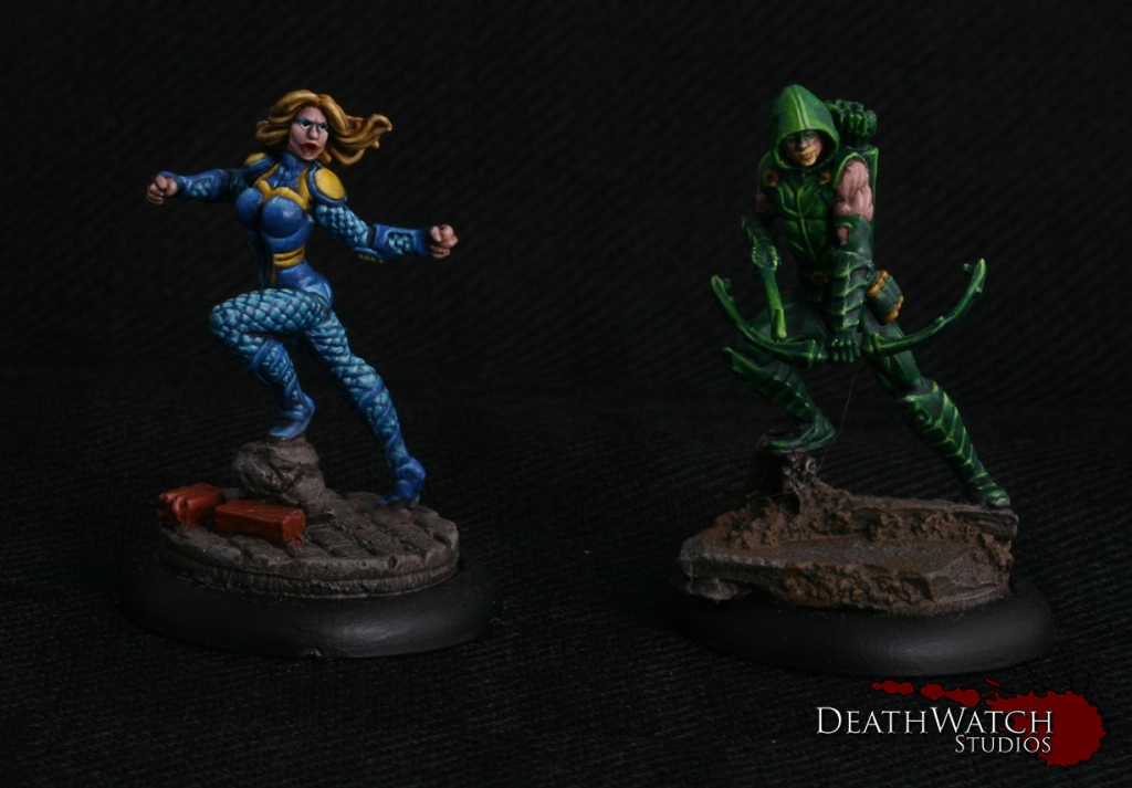 Black-Canary-&-Green-Arrow
