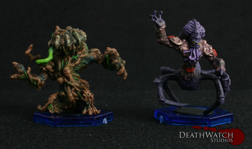 Avaran Treebeast & Nameless Bloodsucker