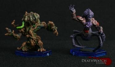 Avaran Treebeast & Nameless Bloodsucker